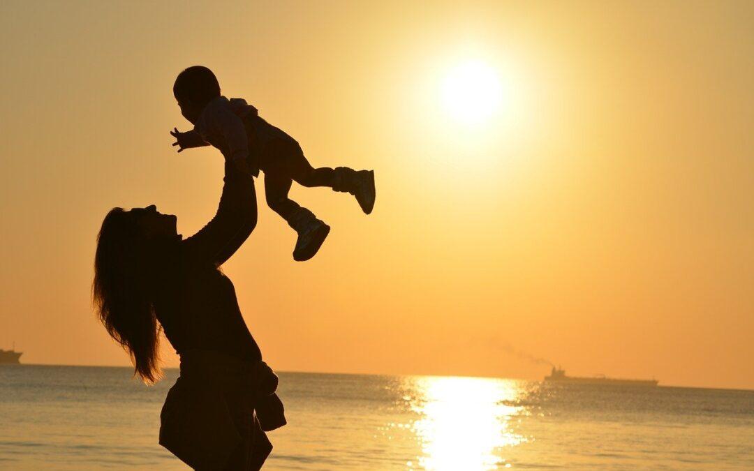 Når du selv bliver mor