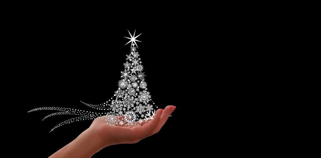 en dejlig afslappet jul i en ekstramors familie